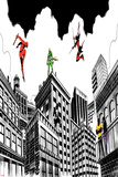 Marvel Knights Featuring Daredevil, Iron Fist, Punisher, Elektra, Cage, Luke, Jessica Jones Prints
