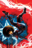 Captain America: Sam Wilson No. 7 Cover Featuring Misty Knight Poster by Nen Chang