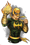 Marvel Knights - Iron Fist Art Design Posters