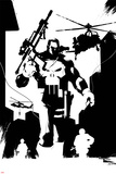 Marvel Knights - Punisher Character Art Print