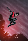 Batman Comics Art Featuring Nightwing Print