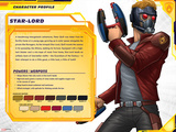 Guardians of The Galaxy Profile Featuring Star-Lord Prints