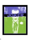 Batman Comics Art Featuring Joker Poster