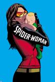 Spider-Woman No. 5 Cover Kunstdrucke von Javier Rodriguez