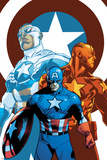 Captain America: Sam Wilson No. 7 Cover Featuring Falcon Cap and More Posters by Mahmud Asrar
