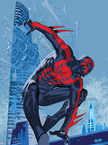 Marvels Spider-Man Panel Featuring Spider-Man 2099 Prints