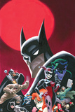 Batman Comics Art with Multiple Characters - Group Image Prints