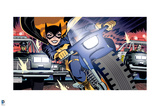 Batman Comics Art Featuring Batgirl Posters