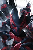 Marvels Spider-Man Panel Featuring Spider-Man 2099 Posters