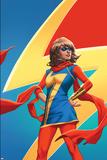Ms. Marvel No. 5 Cover Featuring (Kamala Khan) Kunstdruck von Emanuela Lupacchino
