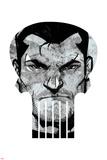 Marvel Knights - Punisher Art Design Print