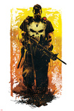 Marvel Knights - Punisher Art Design Poster