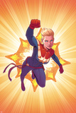 Captain Marvel No. 3 Cover Posters by Jamie McKelvie