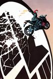 Black Widow No. 1 Cover Featuring Black Widow, SHIELD Logo Affiches par Chris Samnee