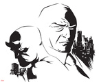 Marvel Knights - Daredevil & Kingpin Design Posters