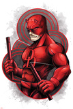 Marvel Knights - Daredevil Character Art Poster