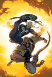 Power Man and Iron Fist No. 1 Cover Featuring Power Man, Iron Fist Photo by Dave Johnson