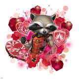 Guardians of The Galaxy Art Featuring Rocket Raccoon Photo