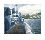 Leaving Scapa Flow Limited Edition by Eric Ravilious
