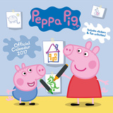 Peppa Pig - 2017 Calendar Kalenterit