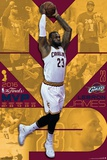 2016 NBA Finals- MVP Lebron James Posters