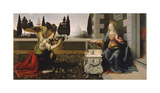 Annunciation Premium Giclee Print by Leonardo Da Vinci