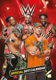 WWE - 2017 Calendar - 2017 A3 Calendar - Takvimler