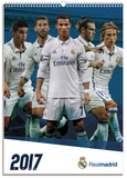 Real Madrid - 2017 A3 Calendar Kalendrar