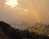 Rio Rainbow Giclee Print by Bent Rej