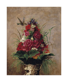 Still Life with Hummingbird Premium Giclee Print by William Merritt Chase