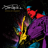 Jimi Hendrix - 2017 Calendar Calendarios