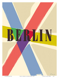 Berlin, Germany Posters by Richard Blank