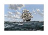 The Sea's Highway - The Australian Clipper Beltana Premium Giclee Print by Montague Dawson