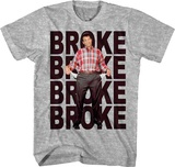 Married With Children- Very Broke T-shirts