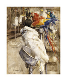 The Aviary, Clinton Premium Giclee PrintJoseph Crawhall