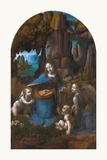 Virgin of the Rocks, 1495 - 1508 Premium Giclee Print by Leonardo Da Vinci