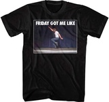 Napoleon Dynamite- Friday Got Me T-Shirt