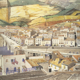 Port Vendres, La Ville Giclee Print by Charles Rennie Mackintosh