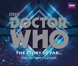 Doctor Who - 2017 Page-a-Day Block Calendar Kalendarze