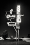 Oasis Motel Giclee Print by Hakan Strand