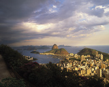 Sunlight over Rio Giclee Print by Bent Rej