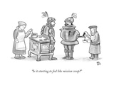 """Is it starting to feel like mission creep?"" - New Yorker Cartoon Premium Giclee Print by Paul Noth"