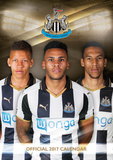 Newcastle United - 2017 A3 Calendar Kalendrar
