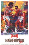 Leonard vs. Duran III Posters by LeRoy Neiman