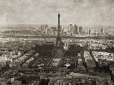 Tour Montparnasse Giclee Print by Pete Kelly