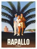 Rapallo, Italy Prints by Mario Puppo