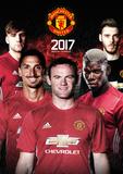 Manchester United - 2017 A3 Calendar Kalendrar