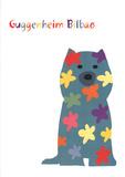 Puppy Print van Jeff Koons