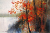Autumn Giclee Print by Richard Akerman