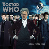 Doctor Who Classic - 2017 Calendar Kalendere